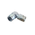 "RF Right Angle Connector N Male 1/2"" S"